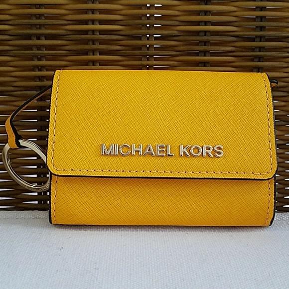 7dfb69517d51d9 Michael Kors Bags | Mustard Mini Wallet | Poshmark